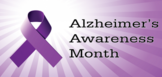 alzheimer's awareness logo