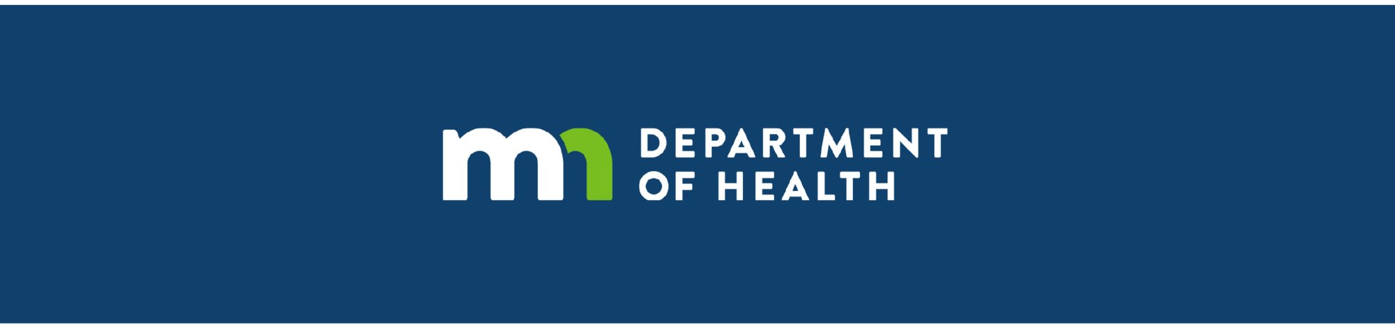 Blue Minnesota Department of Health Logo