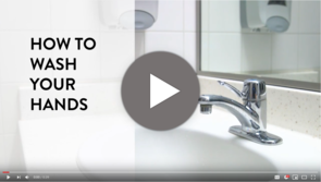 How to Wash Your Hands video