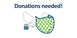 donate homemade face coverings