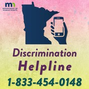 Discrimination Hotline graphic