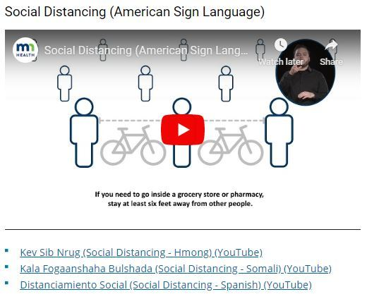 Image of Social Distancing video