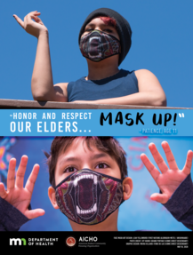 Honor and respect our elders, mask up
