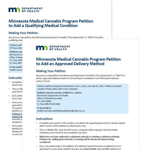 Medical Cannabis Petition