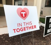 In this together sign