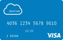 121 benefit debit card