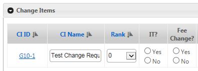 Change Item CI ID Field displaying hyperlink