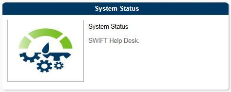 System Status Homepage