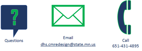 Questions? Email or call the case management redesign team