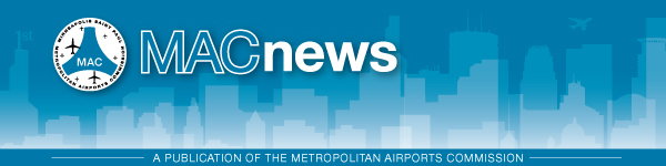 Welcome to the Metropolitan Airports Commission's e-newsletter.