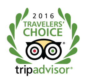 image of trip advisor 2016 travelers choice badge