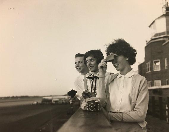 observation deck 1954