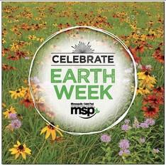 earth week logo msp