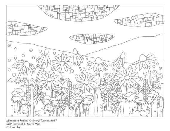 coloring book image 1