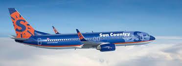 sun country plane