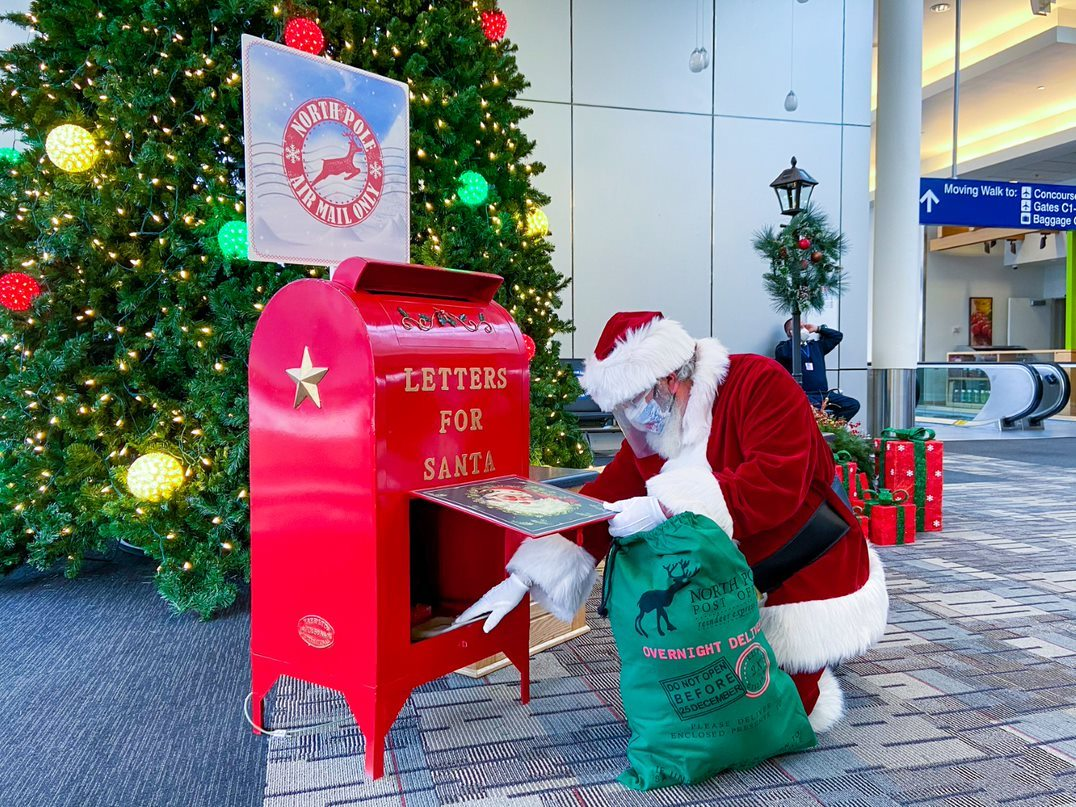 santa gets letters