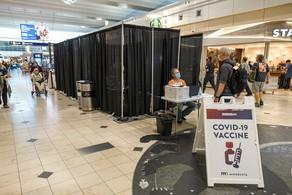 mall vaccine site