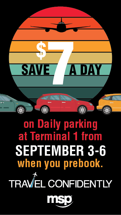 labor day parking promo