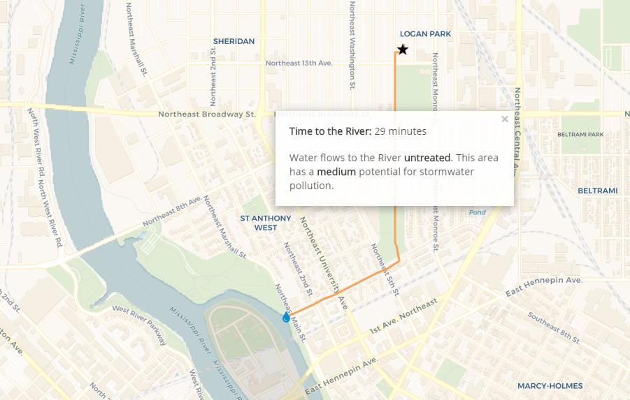 Path to the River tool screenshot.