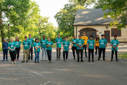 2021 Mississippi River Green Team members.