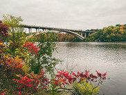Mississippi River Gorge in fall colors.