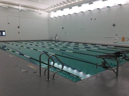 Phillips Aquatics Center competition pool