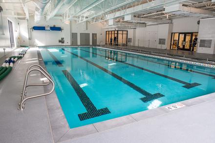 Phillips Aquatics Center - teaching pool