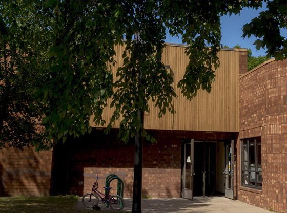 painter rec center exterior