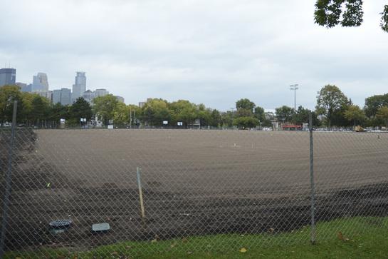 Peavey Park multi-use field