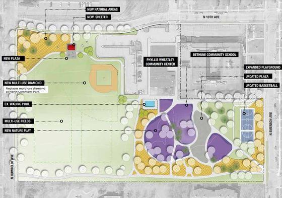 Bethune Park master plan