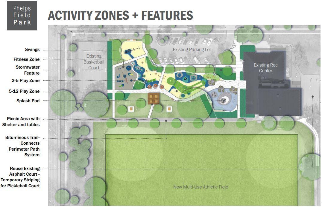 Phelps Park final concept plan