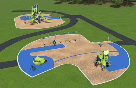 Folwell Park play area concept
