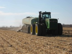 fall manure land application