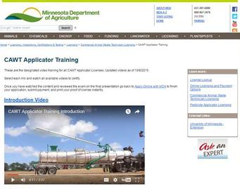 CAWT training video
