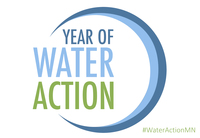 year of water action logo