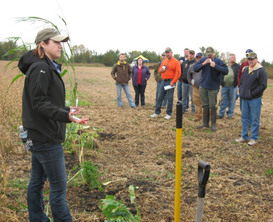 Hawk cover crop field day