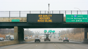MnDOT air quality alert