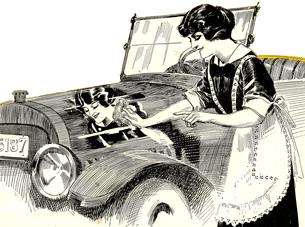 car wash vintage