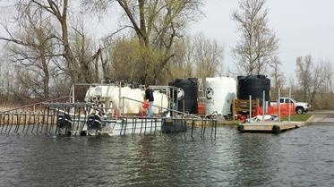 Bald Eagle Lake in north metro: Alum treatment