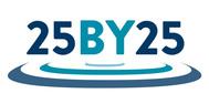 25 by 25 logo