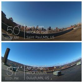 Aircam screen shots