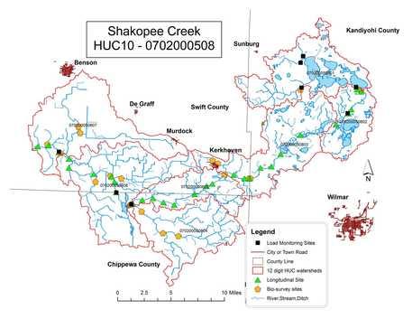 shakopee creek map