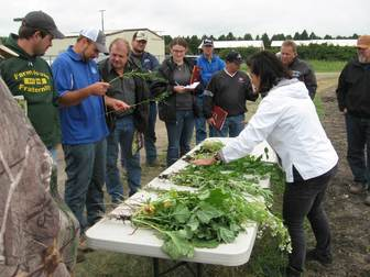 soil health cover crop field day