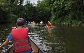 lac qui parle river paddle