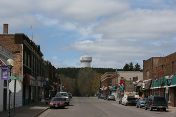 Downtown Cloquet, Minnesota