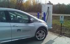 New EV charging station