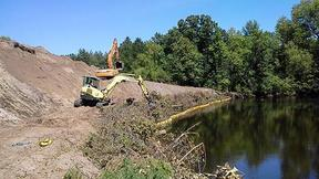 City of Princeton streambank project as part of water quality trading