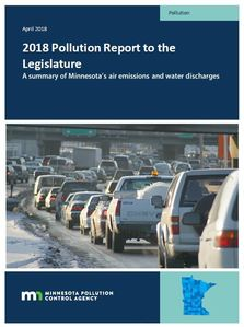 2018 Pollution Report to the Legislature cover image