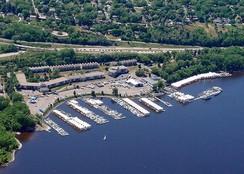 Aerial Sunnyside marina