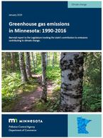 GHG emissions inventory report cover image